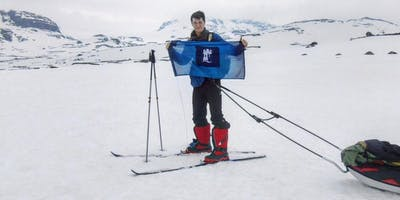 Youngest solo South Pole attempt 2020 Launch Event Bedford