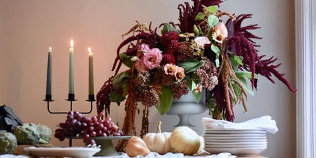 Wine & Floral Design: Fall Themed Centerpiece Class tickets
