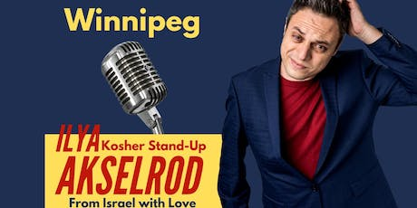 Ilya Akselrod  StandUp in Winnipeg September 25 tickets
