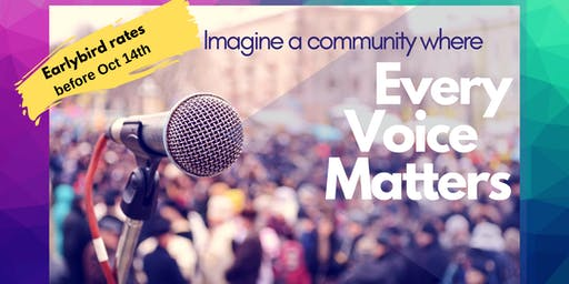 Every Voice Matters - Justice Dinner 2019