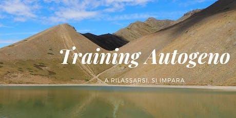 Training Autogeno - prova gratuita biglietti