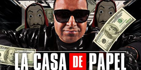 CASA DE PAPEL HALLOWEEN PARTY @barCode tickets