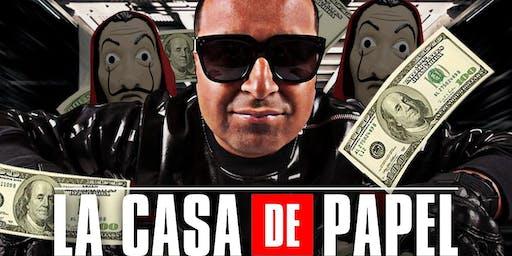 CASA DE PAPEL HALLOWEEN PARTY @barCode