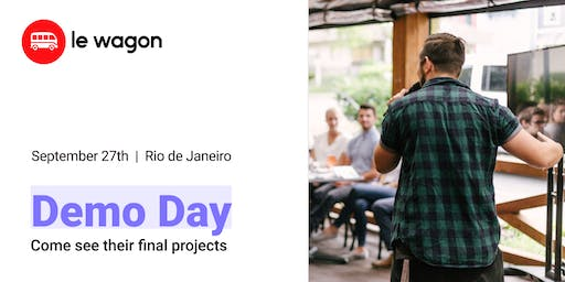 Demo Day | Come see our students' web apps | Le Wagon Rio Coding Bootcamp #298