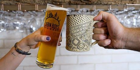 Beer Mug Pottery Workshop tickets