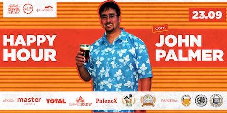 Happy Hour com John Palmer ingressos