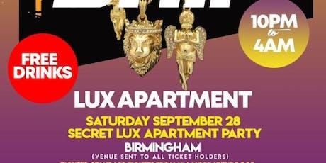 Birmingham's Exclusive 'Last Drip' Luxury Apartment Party tickets