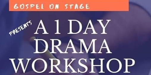 A 1 DAY DRAMA WORKSHOP