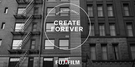 Create Forever Workshop: New York City @ The Jacob Javits Center tickets
