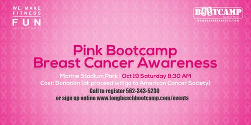 Pink Bootcamp - Breast Cancer Awareness