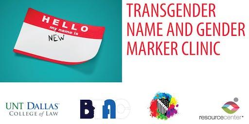 Gender Marker / Name Change Workshop