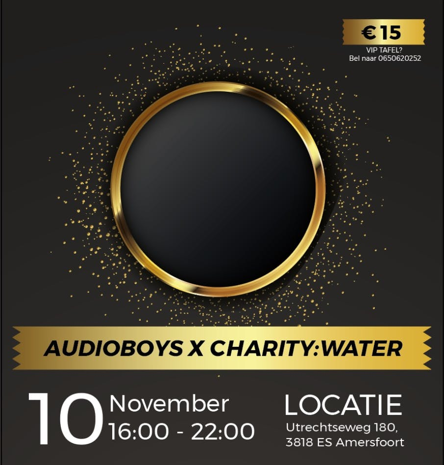 The Audioboys x Charitywater