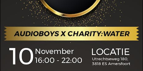 The Audioboys x Charity;water tickets