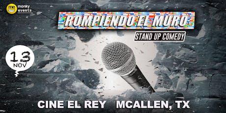 Rompiendo El Muro Mc Allen, TX tickets