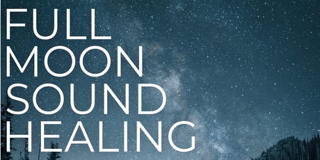 Full Moon Sound Healing tickets