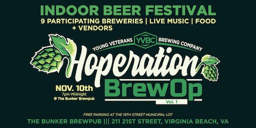Hoperation BrewOp Vol.1 at The Bunker Brewpub