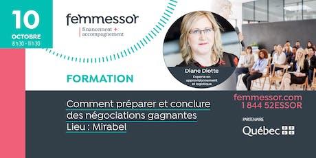 FORMATION | Comment préparer et conclure des négociations gagnantes | Mirabel billets