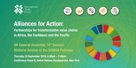 UNGA 74: Alliances for Action: Partnerships for transformative value chains tickets
