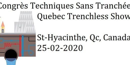 Products & Services presentations - Quebec Trenchless Show 2020