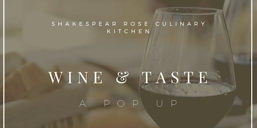Wine and Taste