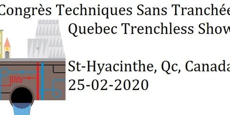 SPONSORSHIP 2020 - Quebec Trenchless Show tickets
