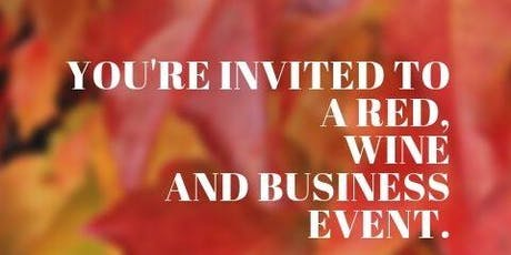Red, Wine and Business Networking Event tickets