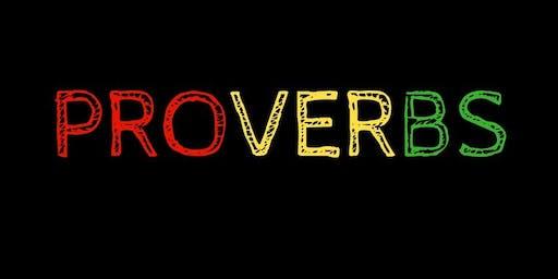 Proverbs Reggae Band LIVE at New Deal Café