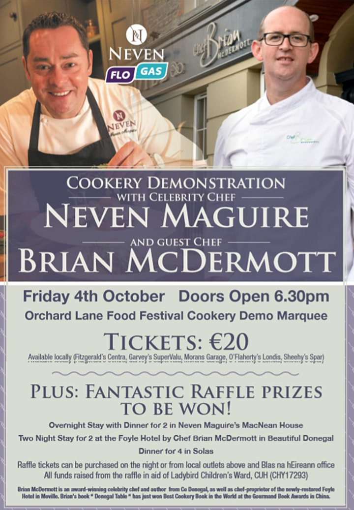 Cookery Demonstration with Neven Maguire and Brian McDermott image