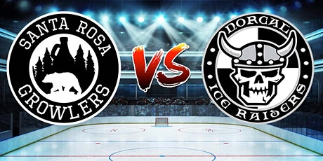 Santa Rosa Growlers vs. NorCal Ice Raiders- Hockey Game tickets