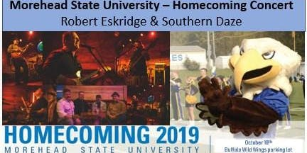 Morehead State Homecoming Concert - Robert Eskridge & Southern Daze