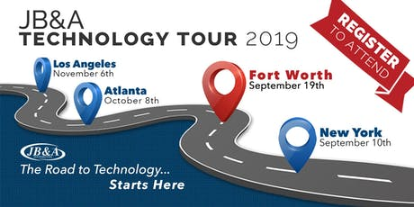 JB&A Technology Tour 2019 | DFW tickets