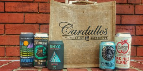 Fall into Cider: Craft Cider Tastings at Cardullo's Gourmet Shoppe tickets