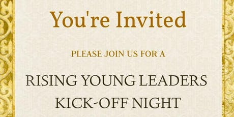 Rising Young Leaders Kickoff Night tickets