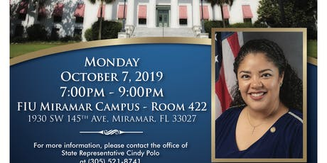 Legislative Town Hall in Miramar tickets