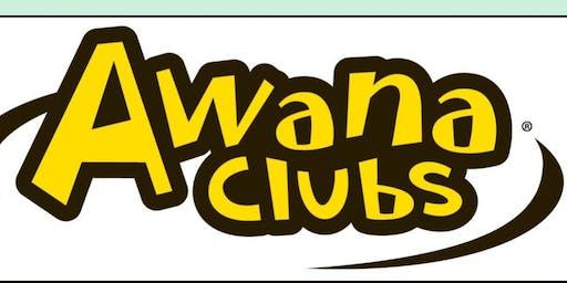 Awana Club - ages 2 to 18 (free, 8 weeks)