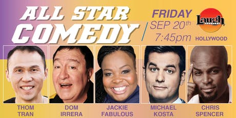 Michael Kosta, Jackie Fabulous, and more - All-Star Comedy! tickets