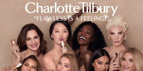 Charlotte Tilbury #FlawlessIsAFeeling Shade-Matching Tour tickets