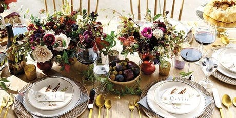 Fall Tablescape Design Class tickets