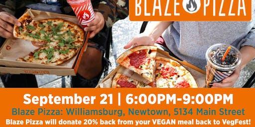 Blaze Fundraiser for VegFest