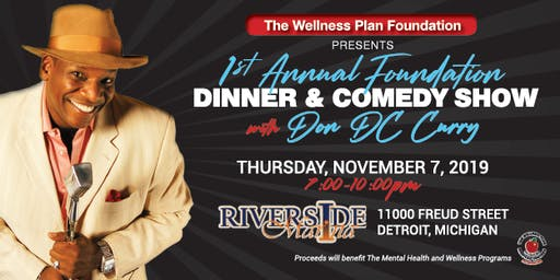The Wellness Plan Medical Centers Foundation Comedy and Dinner Show