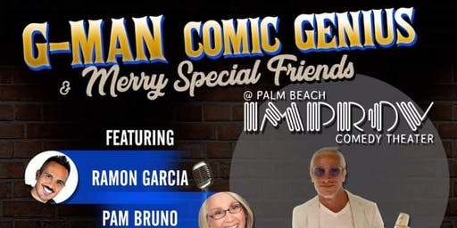 G-Man  Comic Genius  & Merry Special Friends