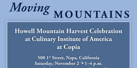 Howell Mountain Harvest Celebration tickets