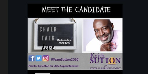 Goldsboro: Candidate Reception for Keith Sutton for NC State Superintendent
