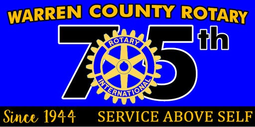 75th Anniversary Dinner & Dance for the Rotary Club of Warren County