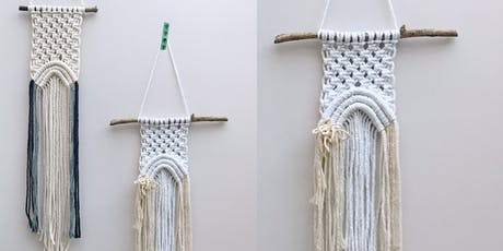 Macrame Rainbow Wall Hanging tickets