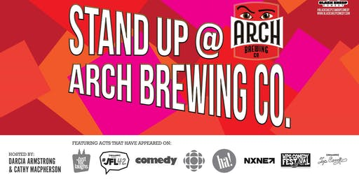 Black Sheep Comedy's Stand Up @ Arch Brewing Co., October