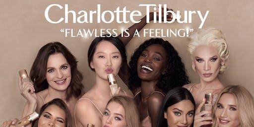 Charlotte Tilbury #FlawlessIsAFeeling Shade-Matching Tour