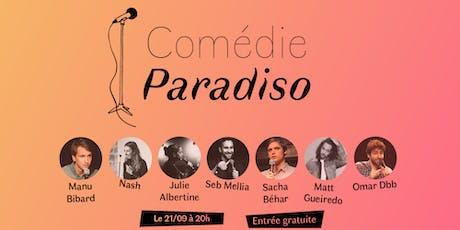 Comédie Paradiso #18 billets