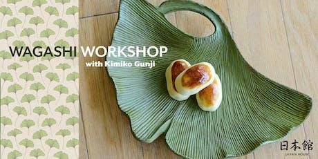 Wagashi Workshop with Kimiko Gunji tickets