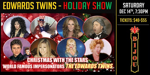 Holiday With The Stars - The Edwards Twins